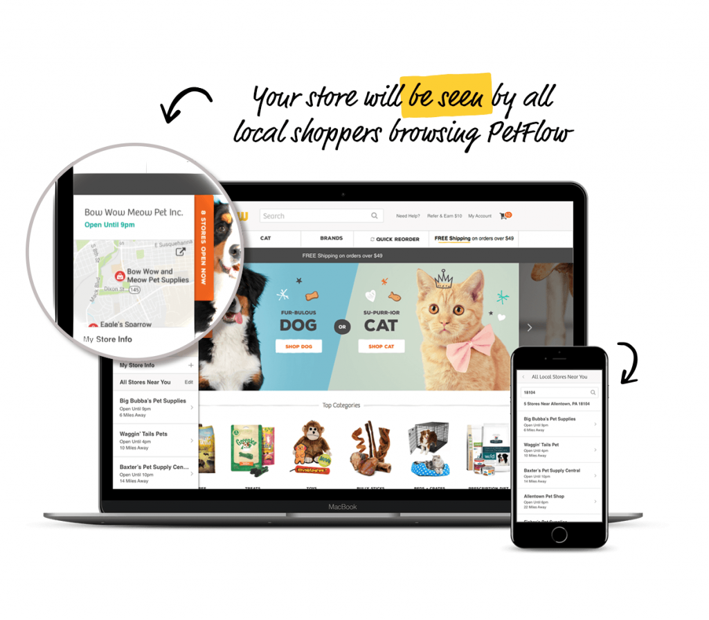 Phillips PetFlow Store Locator