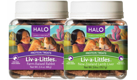 Two New Exotic Proteins for Halo Liv-A-Littles