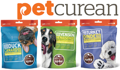 NEW Petcurean Spike Treats - Coming Soon