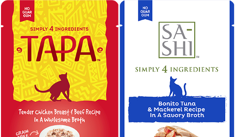 TAPA and Sa-Shi Cat Food Toppers