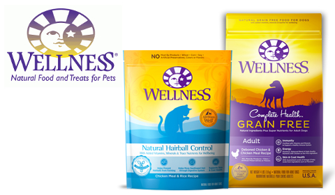 Wellness Hairball Control and Grain Free Complete Health