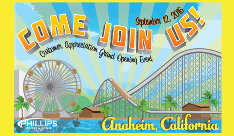 Anaheim Customer Appreciation Event – Sept. 12th