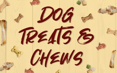 What's New with Dog Treats & Chews