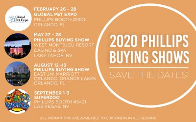 Phillips' 2020 Buying Shows