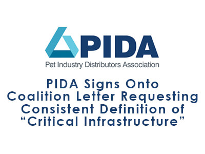 "PIDA Signs Onto Coalition Letter Requesting Consistent Definition of ""Critical Infrastructure"""