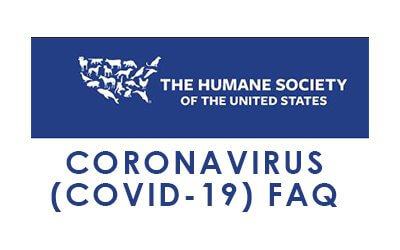 Humane Society of the United States COVID-19 FAQ