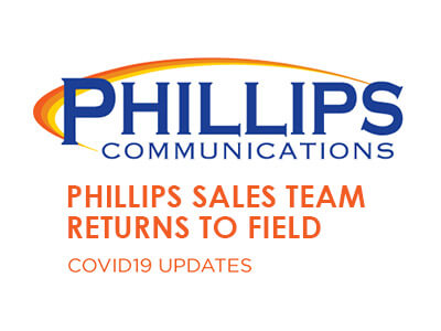 Phillips Sales Team Returning to the Field
